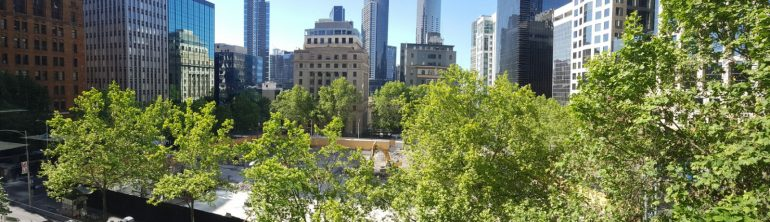 The view from our new Collins Street office