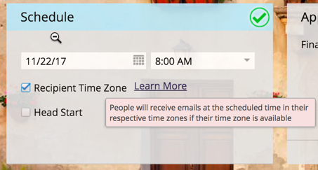 Marketo now delivers emails in the recipient's time zone